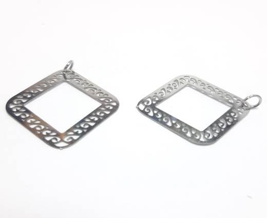 Stainless steel earing SSP-560-26*28MM-Steel