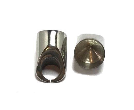 Stainless steel end cap SSP-56-9mm-SteelSteel