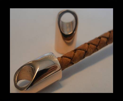 Stainless steel part for leather SSP-56 - 5mm ROSE GOLD