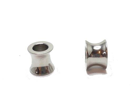 Stainless steel part for leather SSP-57 - 6mm