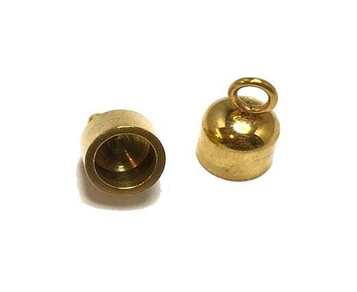 Stainless steel part for leather SSP-585-6MM-Gold