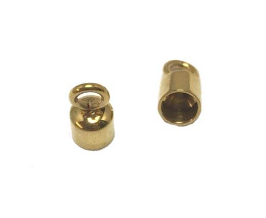 Stainless steel part for leather SSP-586-4MM-Gold