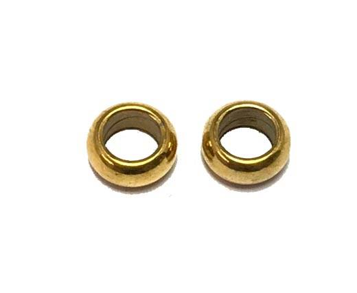 Stainless steel part for leather SSP-588-5.5MM-Gold