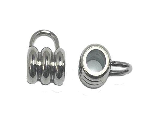 Stainless steel part for round leather SSP-636-4mm