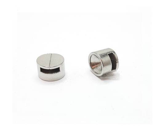 Stainless steel part for leather SSP-660-6*2,5mm-Steel