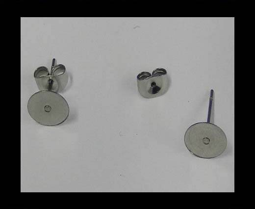 Stainless steel earing SSP-664-8mm-Steel
