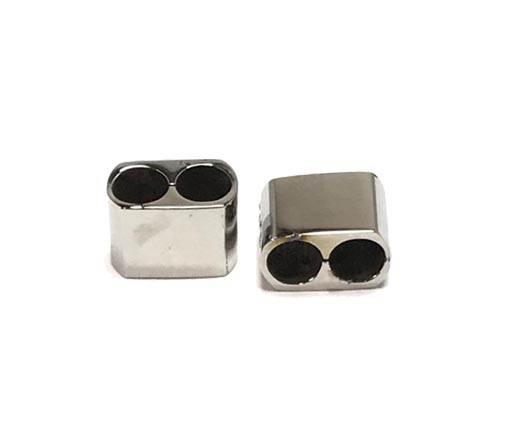 Stainless steel part for round leather SSP-682-2*5mm-Steel
