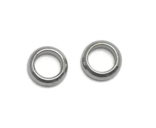 Stainless steel part for round leather SSP-69-4mm-Steel