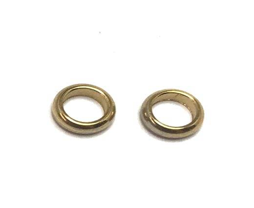 Stainless steel part for leather SSP-69-6mm-Gold