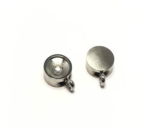 Stainless steel pendant SSP 752 12.5mm Steel