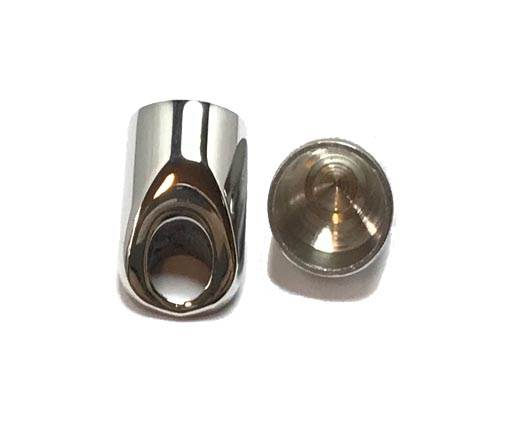Stainless steel end cap SSP 756 10,5mm Steel