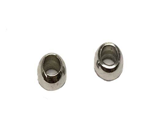 Stainless steel part for leather SSP 758 4mm, 2mm hole Steel
