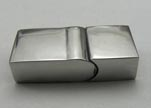 Stainless Steel Magnetic Clasp,Gold,MGST-30-10*5mm