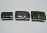Stainless Steel Magnetic clasps - MGST-32-(13.5mm * 6mm)