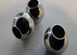Stainless steel part for round leather SSP-35
