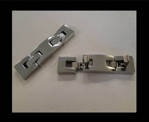 Stainless Steel Snap Lock Clasp -MGST-48