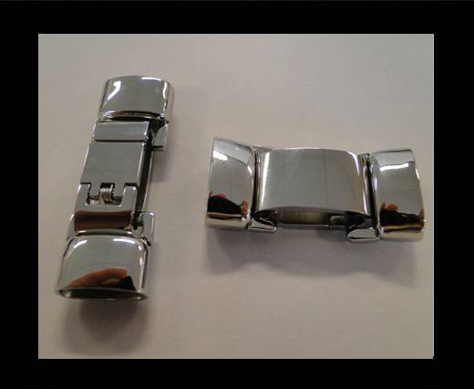 Stainless Steel Non-Magnetic Clasps - MGST-51