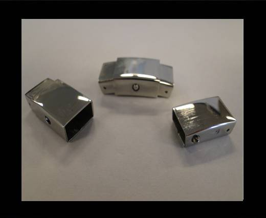 Stainless Steel Non-Magnetic clasps - MGST-53
