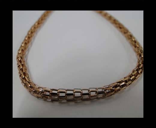 Buy Stainless Steel Chain Item-26-3,2mm Rose Gold at wholesale prices