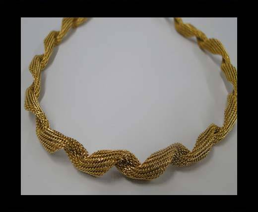 Stainless Steel Chain Item-3-6mm Gold