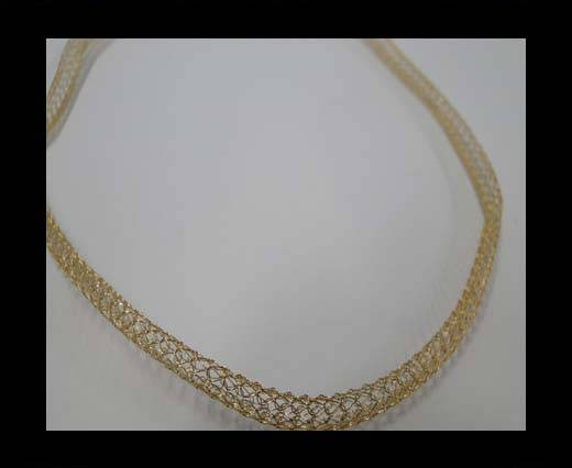 Stainless Steel Chain Item-6-4mm Gold