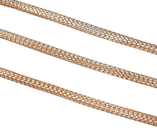 Stainless Steel Chains,Rose Gold,Item 6-4mm