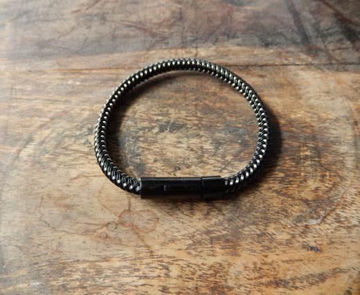 Buy StainlessSteelBracelet01 - Black at wholesale prices