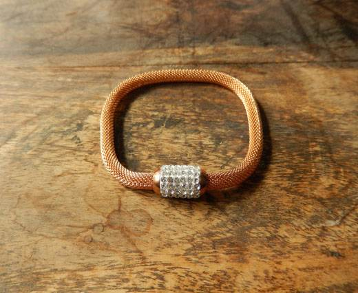 Buy StainlessSteelChainBracelet01 - Rose Gold at wholesale prices