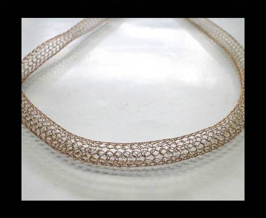 Buy Steel Chain Item 6 Rose Gold -4mm at wholesale prices