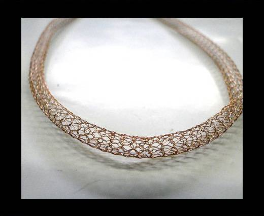 Buy Steel Chain Item 6 Rose Gold -6mm at wholesale prices