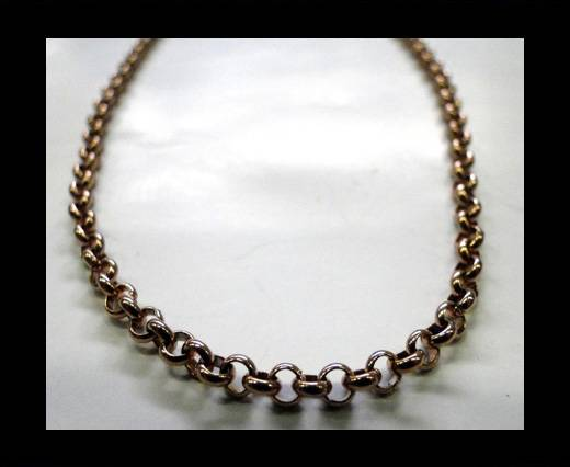 Buy Steel Chain Item 12 Rose Gold 3.5mm at wholesale prices