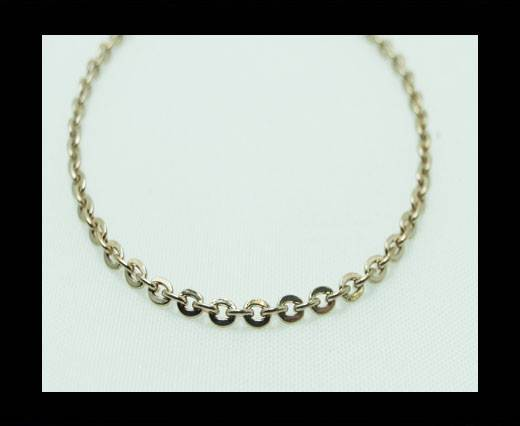 Steel chain item number-28-rose gold
