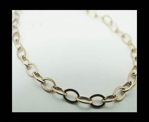 Steel chain item number-30-rose gold