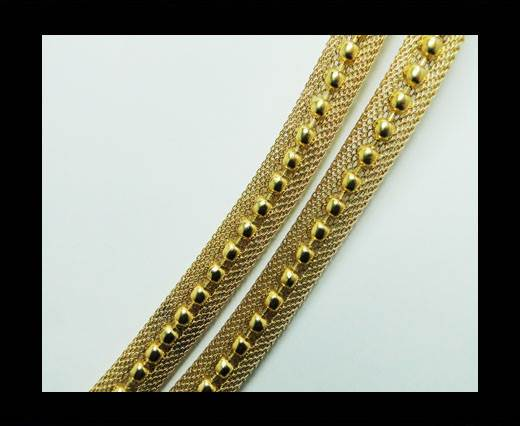 Steel chain item number-23-gold
