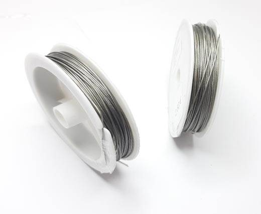 Steel wire 0.8mm - Silver