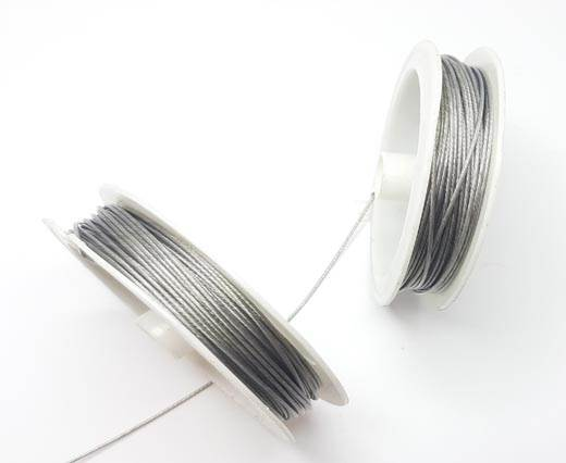 Steel wire 1.0mm - Silver