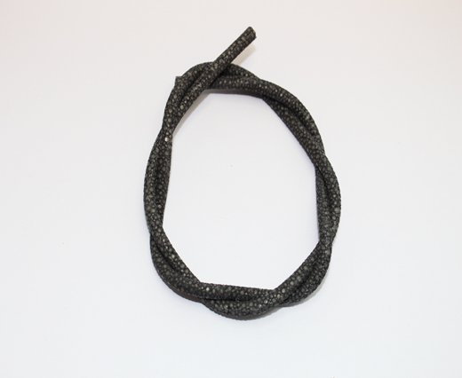 Stingray Cord - 4mm - Dark Grey