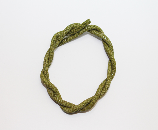 Buy Stingray Cord - 4mm - Olive Green at wholesale prices