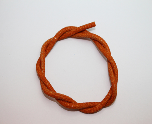 Stingray Cord - 4mm - Orange