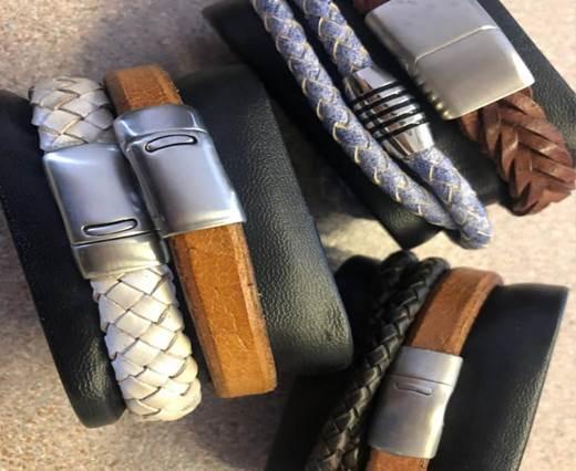 Leather cord bracelets style-6