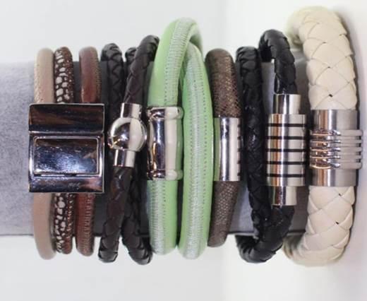 Leather cord bracelets style-7