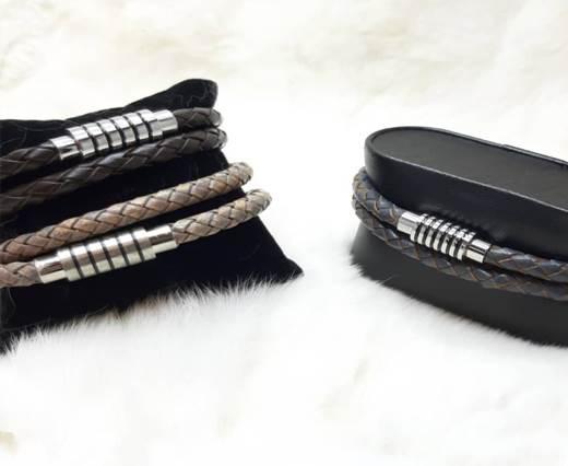 Leather cord bracelets style-8