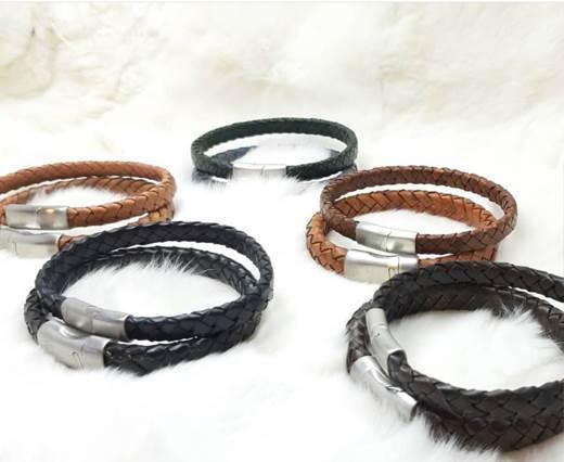 Leather cord bracelets style-9