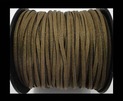 Suede cord - 3mm - Taupe