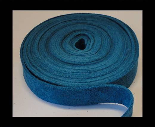 Buy Suede Cords-15mm-SE-CS-20-Turquoise at wholesale prices