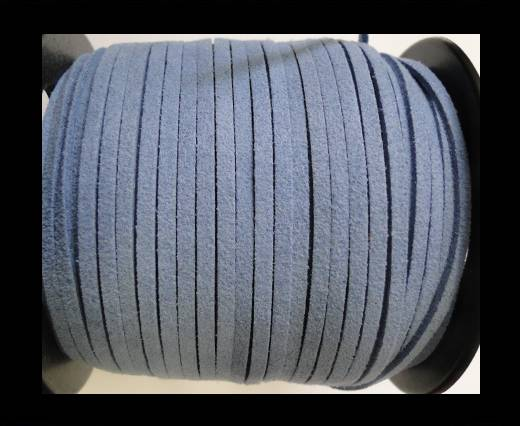 Suede Cords-3mm-Blue