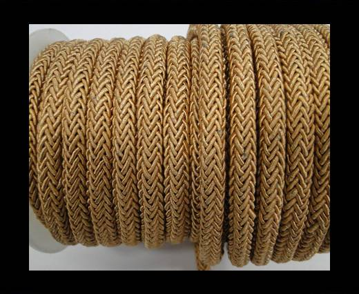 Swift Braided Cord without inner-6mm-Dark Beige