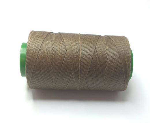 0.8mm-Nylon-Waxed-Thread-Taupe 747