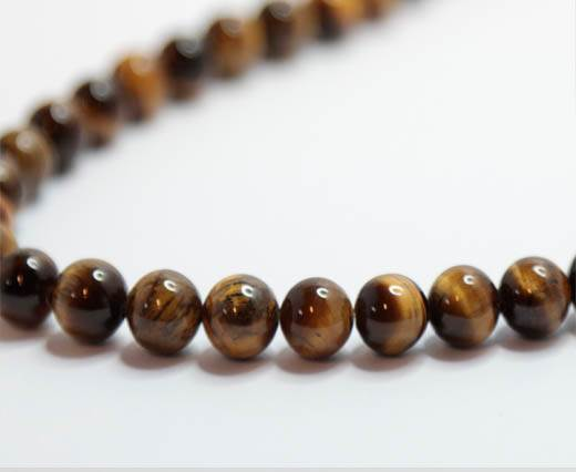Natural Stones-8mm-Tiger Eye