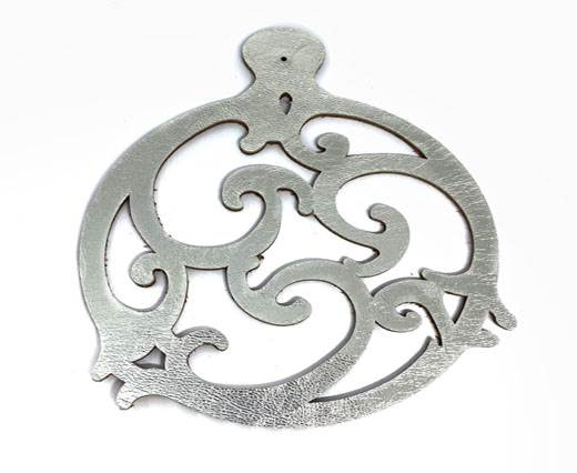 TRIBAL-10cms-style1-SILVER